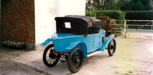 Benjamin Type B 1922 2e foto