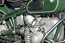 Oude motor BMW 1959