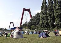 Camping Rotterdam 2008 overzicht camping