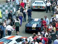 Le Mans Classic diverse oldtimers en youngtimer racers