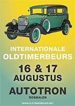 Internationale Zomer Oldtimerbeurs Automobielen Autotron Rosmalen Poster